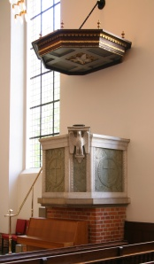 Pulpit (photo released to public domain)