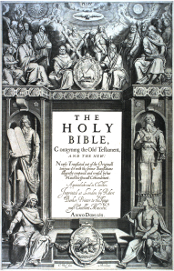 King James Version of Bible, first edition, title page - 1611