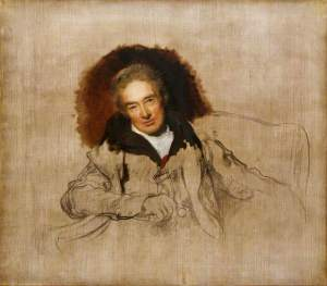 Unfinished portrait of William Wilberforce by Thomas Lawrence (1828). National Portrait Gallery, London; Supplied by The Public Catalogue Foundation