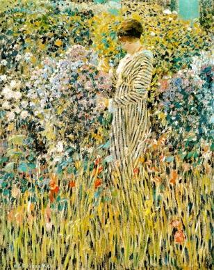 Lady in a Garden, 1912