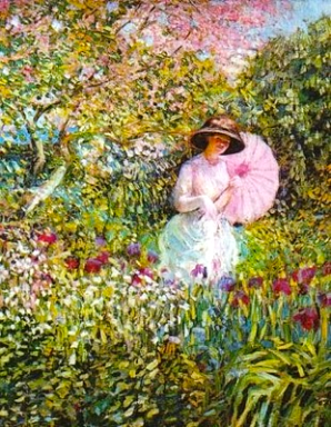 The Pink Parasol, 1913.