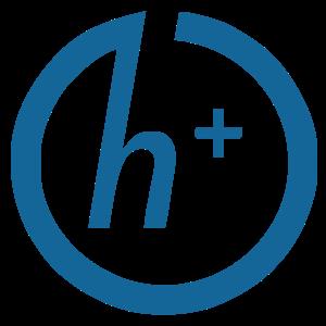 Transhumanism H+ symbol, 2010, by Antonu.